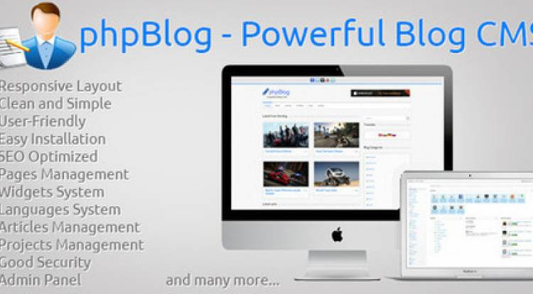 Powerful Blog CMS Blog Sitesi
